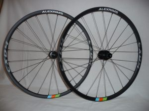 Alex CXD 4 CX/Road wheels